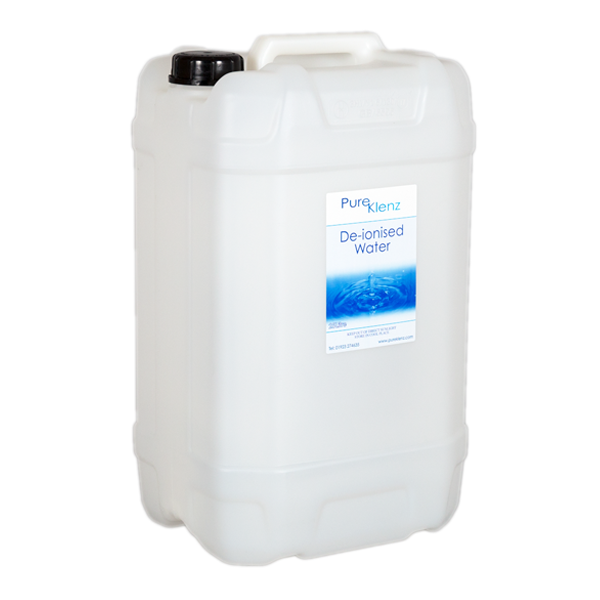 Deionised/Demineralised Water 25 Litre