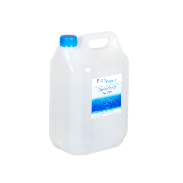Deionised/Demineralised Water 5 Litre