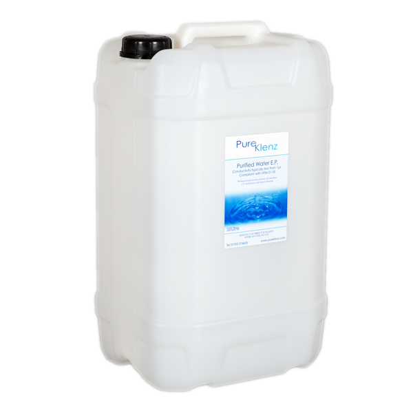 Purified Water 25 Litres